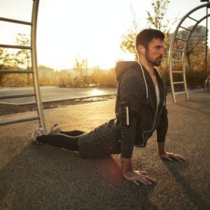 Yoga Benefits for Sportsmen
